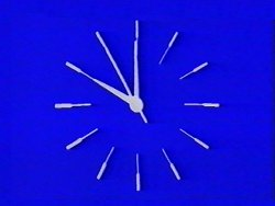 HTV clock - mechanical